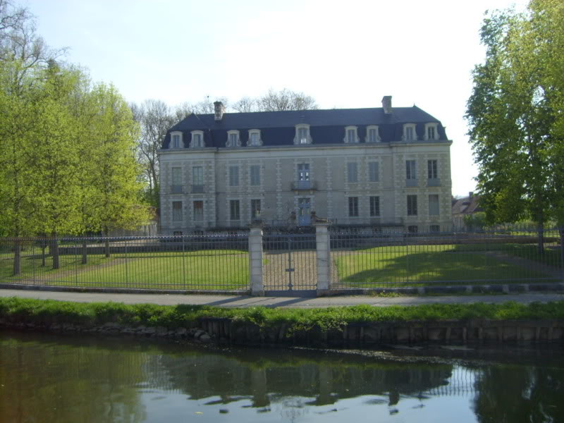 Canal side chateau