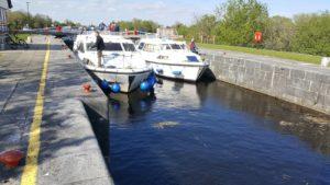 Boats in a Shannon Lock