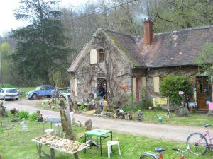 Lock house on the Nivernais