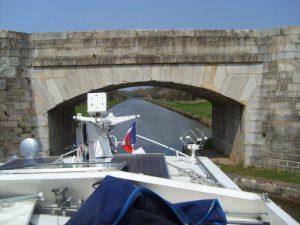 Low bridge on the Nivernais canal