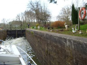 The Nivernais has plenty locks
