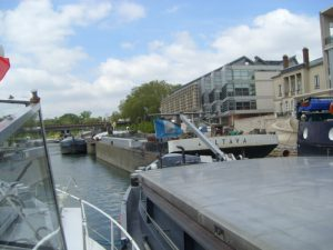 Barge strike