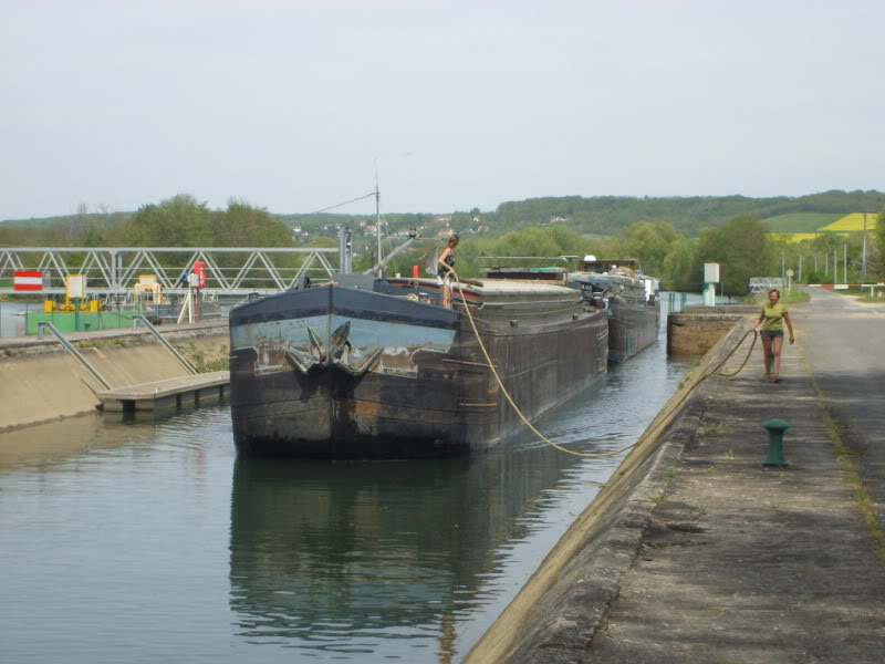 Barges on the Yonne