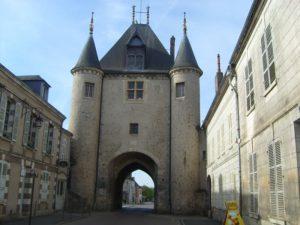 off the Yonne in Villeneuve sur Yonne