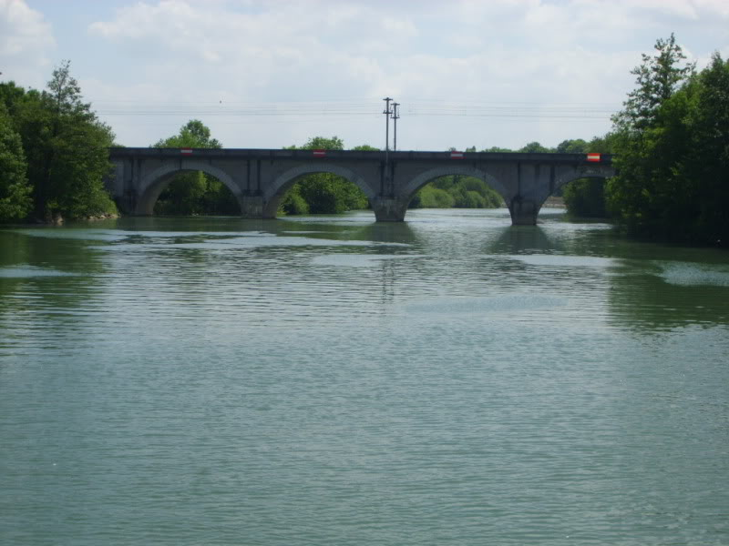 Limit of navigation on the river Marne