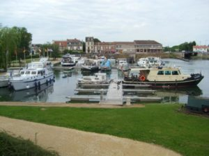The moorings in Toul